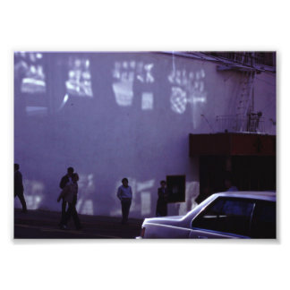 City Street Film Photo Print