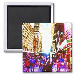 City Street Magnet