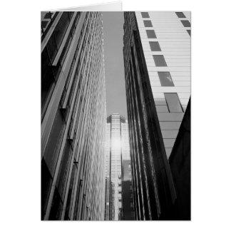 City Sunburst - Chicago Card
