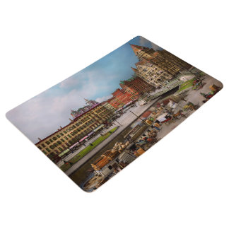 City - Syracuse NY - The Clinton Square Canal 1905 Floor Mat