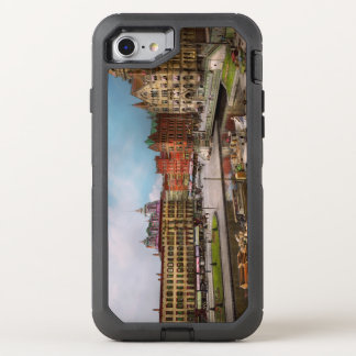 City - Syracuse NY - The Clinton Square Canal 1905 OtterBox Defender iPhone 8/7 Case
