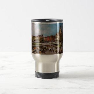 City - Syracuse NY - The Clinton Square Canal 1905 Travel Mug