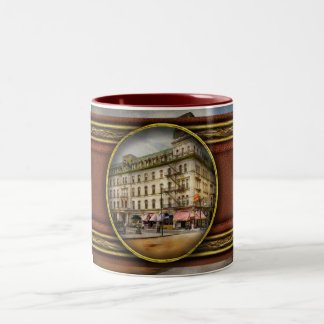 City - Toledo OH - Got a Boody Call 1910 Two-Tone Coffee Mug