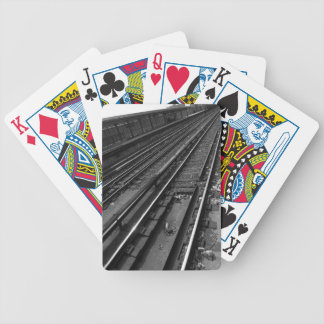 City Tracks Bicycle Playing Cards