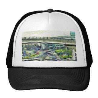 City traffic trucker hat
