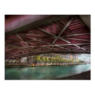 City - Underneath the William P Fahey Bridge Post Cards