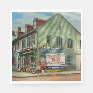 City - VA - C&G Grocery Store 1927 Disposable Napkins
