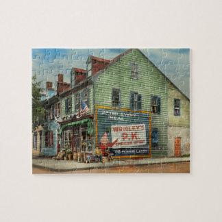 City - VA - C&G Grocery Store 1927 Jigsaw Puzzle