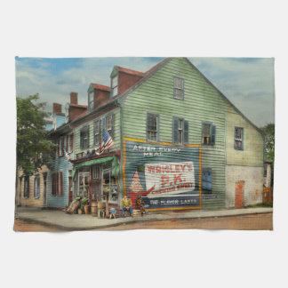 City - VA - C&G Grocery Store 1927 Kitchen Towel