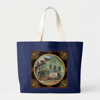 City - VA - C&G Grocery Store 1927 Large Tote Bag