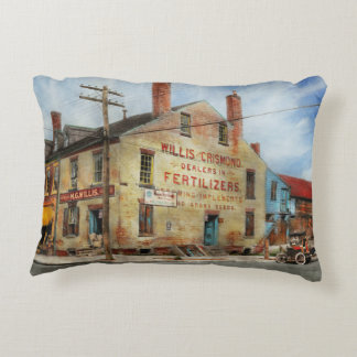 City - VA - Dealers in Fertilizers Decorative Pillow