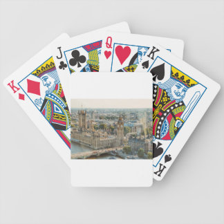 City View at London Bicycle Playing Cards