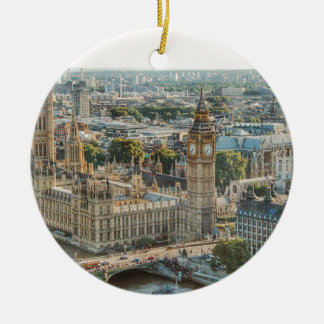 City View at London Ceramic Ornament