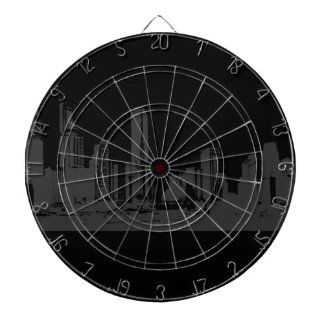 city view dartboard