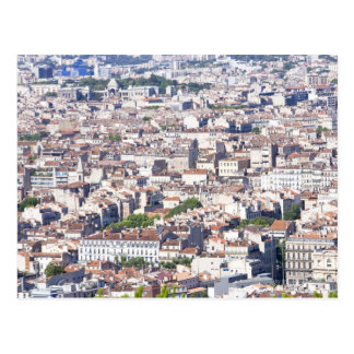City View in Marseille Postcard