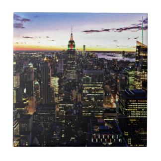 City View Night Tiles
