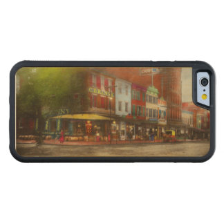 City - Washington DC - Life on 7th St 1912 Carved Maple iPhone 6 Bumper Case