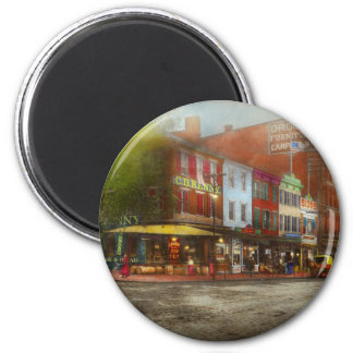City - Washington DC - Life on 7th St 1912 Magnet