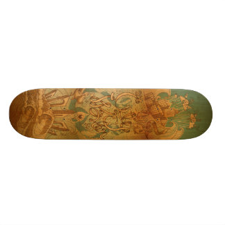City Water Custom Skateboard