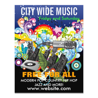 City Wide Music Flyer
