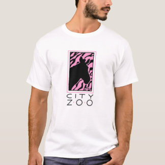 City Zoo: Zebra T-Shirt