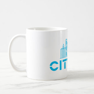 CityLab mug with blue skyline