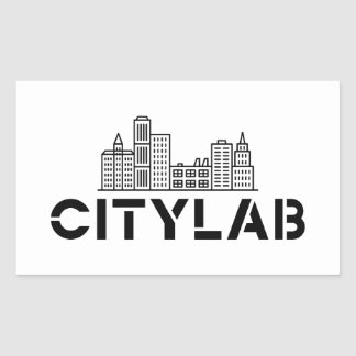 CityLab skyline sticker