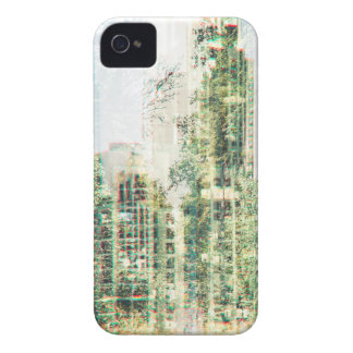 Cityscape and forest iPhone 4 Case-Mate case