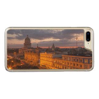 Cityscape at sunset, Havana, Cuba Carved iPhone 7 Plus Case