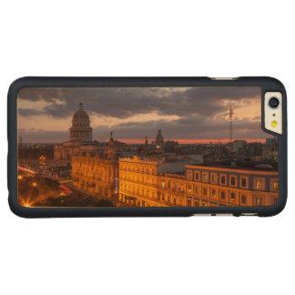 Cityscape at sunset, Havana, Cuba Carved® Maple iPhone 6 Plus Case