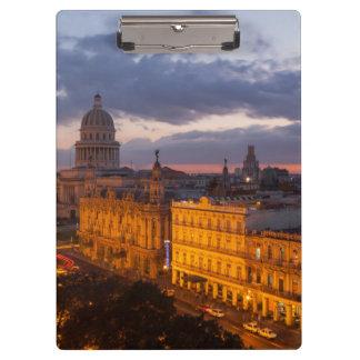 Cityscape at sunset, Havana, Cuba Clipboards