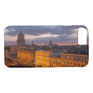 Cityscape at sunset, Havana, Cuba iPhone 7 Case