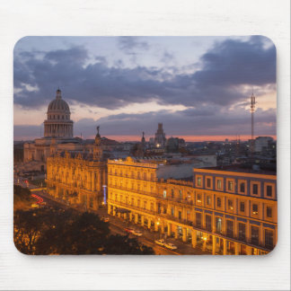 Cityscape at sunset, Havana, Cuba Mouse Pad