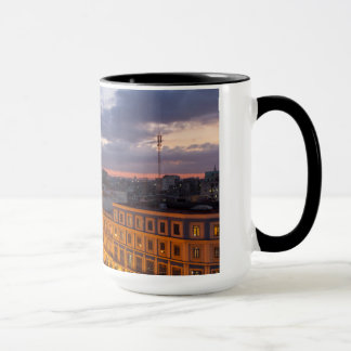 Cityscape at sunset, Havana, Cuba Mug