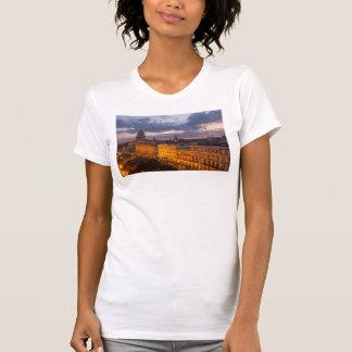 Cityscape at sunset, Havana, Cuba T-Shirt