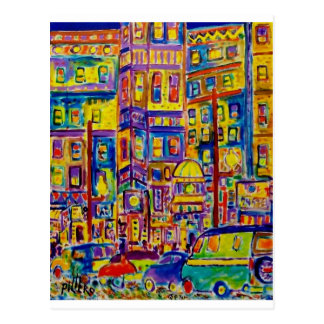 Cityscape Bronx by Piliero Postcard