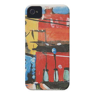 cityscape by Lyn Graybeal iPhone 4 Case-Mate Cases