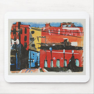 cityscape by Lyn Graybeal Mouse Pad