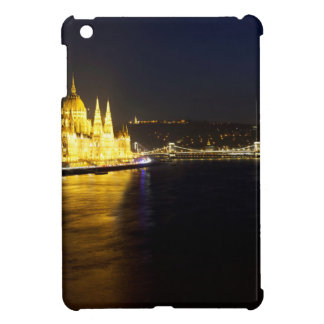 Cityscape of Budapest at night Cover For The iPad Mini