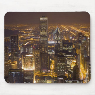 Cityscape of downtown Chicago Mouse Pad