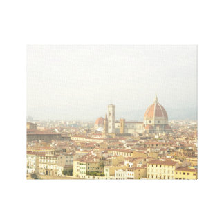 Cityscape of Florence, Italy Canvas Print