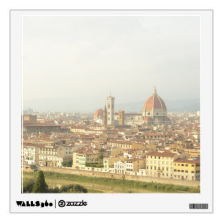 Cityscape of Florence, Italy Wall Sticker