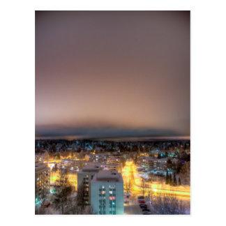 Cityscape of Lahti Postcard
