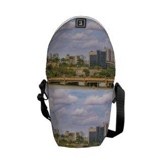 Cityscape of Recife, Pernambuco Brazil Commuter Bag