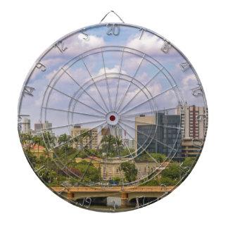 Cityscape of Recife, Pernambuco Brazil Dartboard