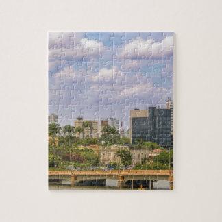 Cityscape of Recife, Pernambuco Brazil Jigsaw Puzzle