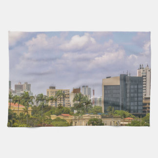 Cityscape of Recife, Pernambuco Brazil Kitchen Towel