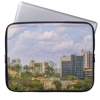 Cityscape of Recife, Pernambuco Brazil Laptop Sleeves