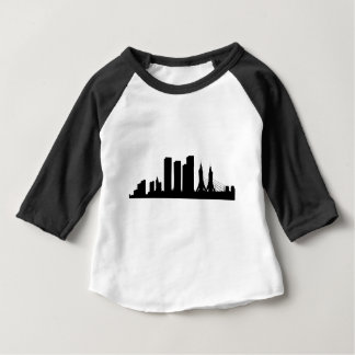 Cityscape Silhouette Baby T-Shirt