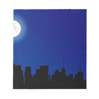 Cityscape Silhouette Notepads
